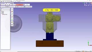 GO2cam 取込み素材認識3D荒
