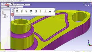 GO2cam 3D輪郭加工