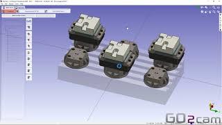 GO2camV6.08マルチパーツ加工