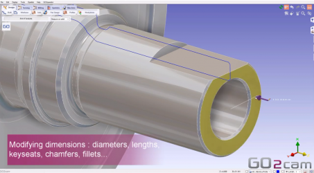 GO2cam V6.06 new functionnalities: Tolerancing